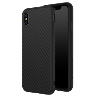 Чехол RhinoShield SolidSuit для iPhone Xs Max Чёрный карбон