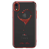 Чехол Kingxbar Wish для iPhone XR Red Frame