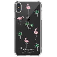 Чехол Kingxbar Tropical для iPhone Xs Max Flamingo