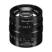 Объектив 7Artisans 55mm F1.4 Sony (E Mount) Чёрный
